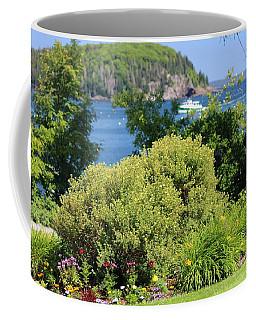 Waterfront Garden Coffee Mug