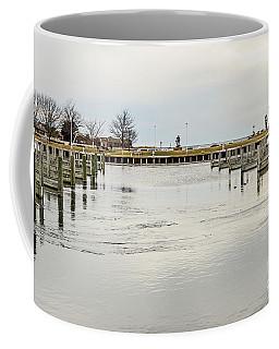 Waterfront Park In Ludington, Michigan Coffee Mug