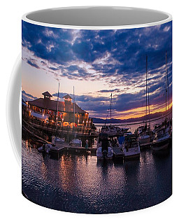 Waterfront Summer Sunset Coffee Mug