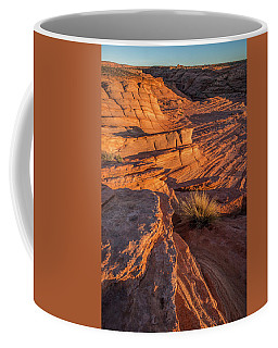 Waterhole Canyon Sunset Vista Coffee Mug