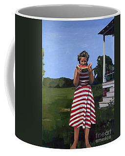 Watermelon Eater Coffee Mug