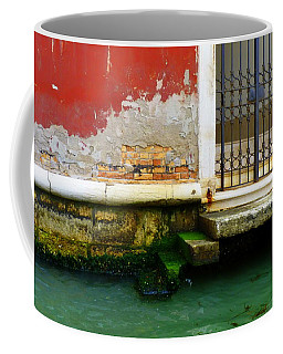 Water's Edge In Venice Coffee Mug