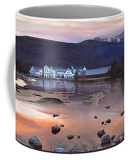 Waterville Valley Sunset Coffee Mug by Nancy Griswold
