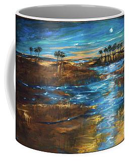 Waterway In The Moonlight Coffee Mug