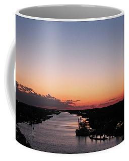 Waterway Sunset #1 Coffee Mug