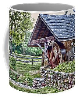 Waterwheel Coffee Mug by Nicki McManus