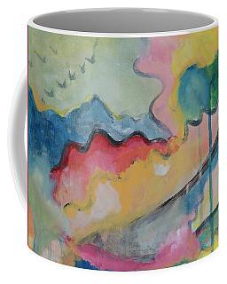 Watery Abstract Coffee Mug