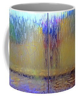 Coffee Mug featuring the photograph Watery Rainbow Abstract by Nareeta Martin