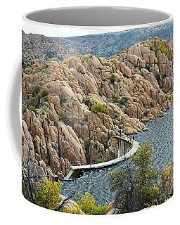 Watson Lake Dam Coffee Mug