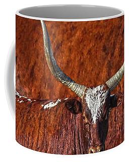 Watusi Blues In Rustic Red Coffee Mug