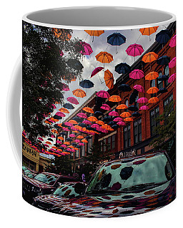 Wausau's Downtown Umbrellas Coffee Mug