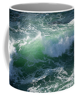 Wave At Montana De Oro Coffee Mug
