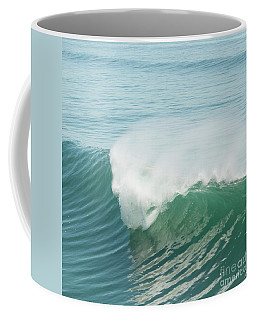 Coffee Mug featuring the photograph Wave Curl by Ana V Ramirez