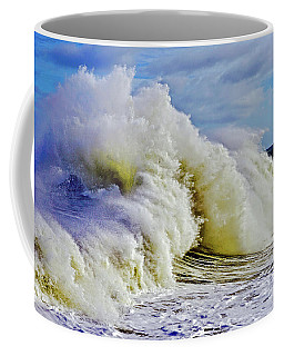 Moody Surf Coffee Mug by Michael Cinnamond