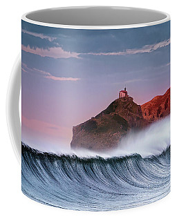Wave In Bakio Coffee Mug