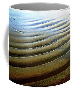 Wave Patterns At Drake's Beach, Point Reyes National Seashore Coffee Mug