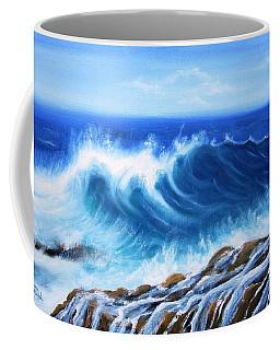 Wave Coffee Mug by Vesna Martinjak