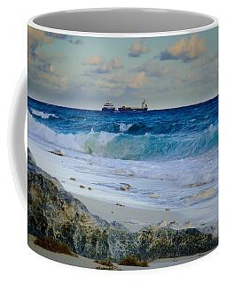 Waves And Tankers Coffee Mug