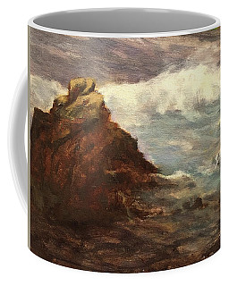 Waves At Dusk Coffee Mug