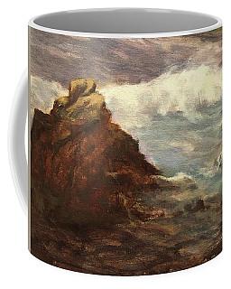Waves At Dusk Coffee Mug