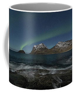 Waves At Night Coffee Mug