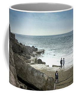 Waves At Portland Bill Coffee Mug