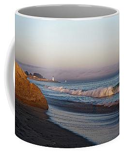 Waves At Santa Cruz Coffee Mug