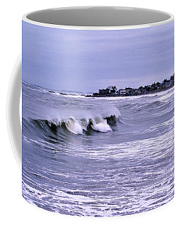 Waves At Wallis Sands Coffee Mug