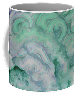 Coffee Mug featuring the painting Waves by Michele Myers