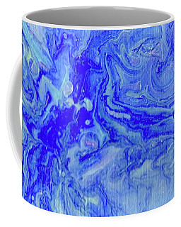 Waves Of Blue Coffee Mug by Desiree Paquette