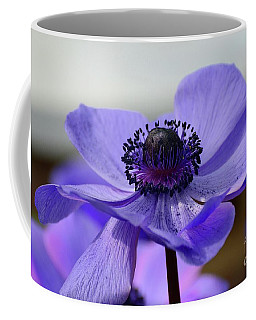 Waves Of Purple Coffee Mug