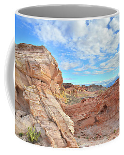 Waves Of Sandstone In Valley Of Fire Coffee Mug