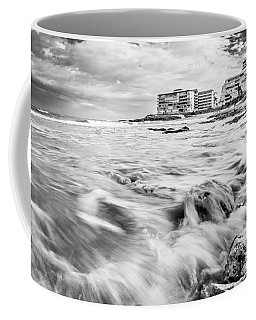 Waves On The Beach Coffee Mug