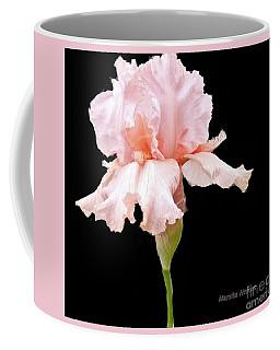 Wavy Pink Iris Ll Coffee Mug