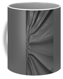 Coffee Mug featuring the photograph Wavy Wall B W by Rob Hans