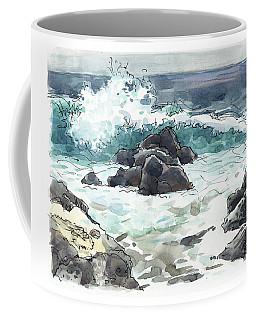 Wawaloli Beach, Hawaii Coffee Mug