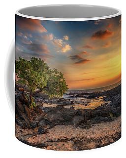 Wawaloli Beach Sunset Coffee Mug