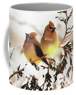 Waxwing Refuge  Coffee Mug