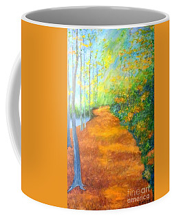 Way In The Forest Coffee Mug