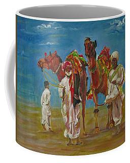 Way Of Life Coffee Mug by Khalid Saeed