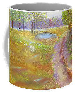 Way To The Pond Coffee Mug by Loretta Luglio