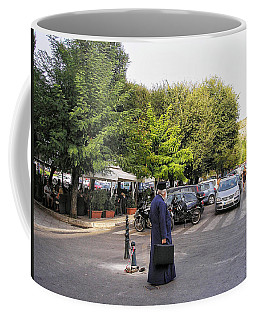 Coffee Mug featuring the photograph Ways To Stop Traffic  by Connie Handscomb