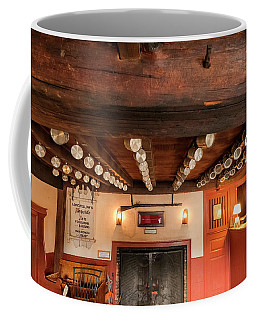 Coffee Mug featuring the photograph Wayside Inn Bar by Tom Singleton