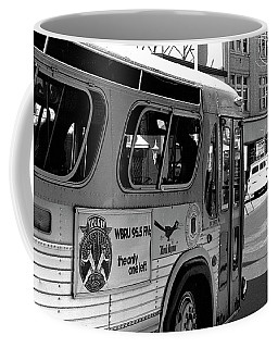 Wbru-fm Bus Sign, 1975 Coffee Mug