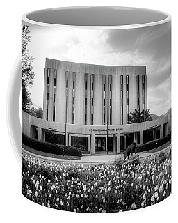 Wcu Catamount In Black And White Coffee Mug