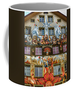 Coffee Mug featuring the photograph We Are All Friends Here  by Connie Handscomb