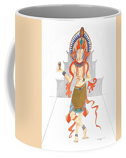 We Are All Goddesses -- Portrait Of Hindu Goddess Coffee Mug