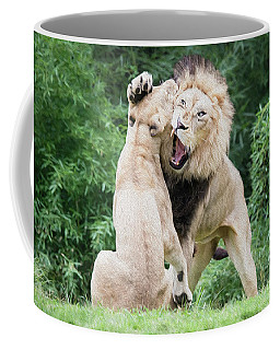 We Are Only Playing Oil Coffee Mug