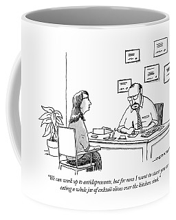 We Can Work Up To Antidepressants Coffee Mug