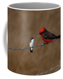 Coffee Mug featuring the photograph We Could Still Be Friends by John Kolenberg
